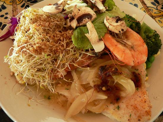 lunch at xel ha